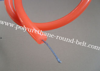 China Red urethane flat Kevlar Belts waterproof with abrasion resistance supplier