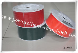 China Power Transmission PU Round Belt For Textile Machines , Hardness 90A supplier