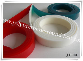China Red / Green Solvent Resistance Squeegee For Screen Printing 4 Meter , Anti-Oil supplier