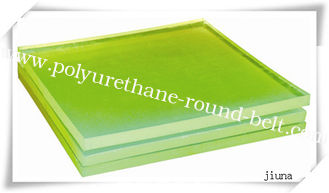 China Abrasion Resistance PU / Polyurethane Sheet Hardness 45  - 98 Shore A supplier