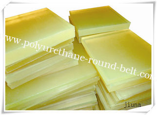 China Oil Resistant Pu Plastic Polyurethane Rubber Sheet / Board Aging Resistant supplier