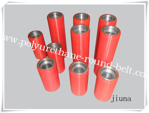 China Customized PU Coating Polyurethane Rollers Abrasion Resistant supplier
