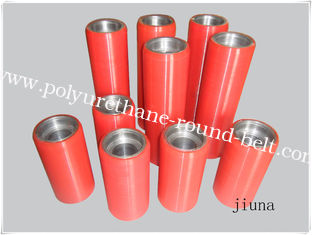China Castable Red Pu Wheels Oil Resistant For Industry Caster , 30A - 98A supplier