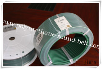 China Transparent Polyurethane Round Belt Strong Engine Urethane Belting Material supplier