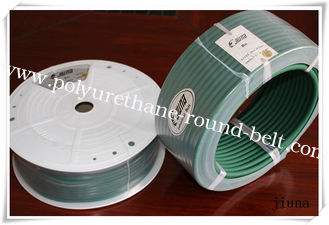 China Green Tear Strength Rough Polyurethane Round Belt  High Tensile supplier