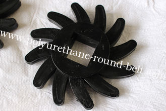 China Black 90a Polyurethane Coating Bushings Replacement , Aging Resistant supplier
