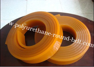 China 60shore A ~90 shore A hardness Flat Polyurethane squeegee for Screen Printing Squeegee PU supplier