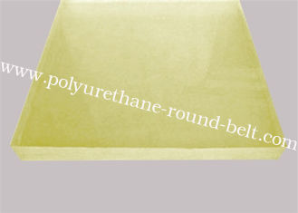 China Any Color  Resistant Resistant To Acid and Alkali Polyurethane Rubber Sheet Oil Resistant Wear supplier