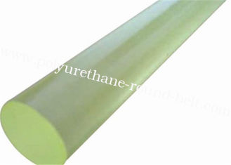 China Elastic Industrial abrasion resistance Oil Resistant PU Polyurethane Rubber Bar Rod Polyurethane Rubber Sheet supplier