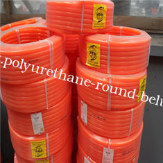 China Smooth Polyurethane Round Belt High Tensile Strength Diameter 15mm supplier
