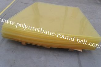 China Elastic Industrial Polyurethane Rubber Sheet , Abrasion Resistant PU Wear Plate supplier