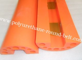 China Elastic Industrial Polyurethane Parts Nature PU With Abrasion Resistance supplier