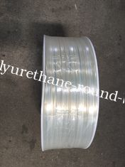 China PU and PVC guide A  for Guiding on the conveyor belts Transparent, hardness 70A to 80A supplier