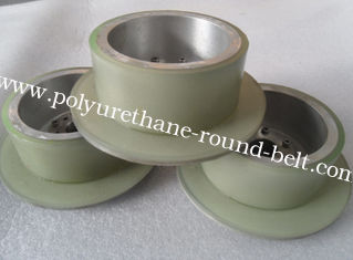 China Industrial PU Polyurethane Wheels Abrasion Resistant For Conveyor Machine supplier