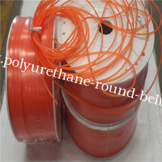 China Smooth Polyurethane Round Drive Belting High Tensile Strength Wear Resisting supplier