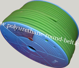 China 3m - 12mm Round rubber conveyor Belt / industrial belt Recyclable supplier