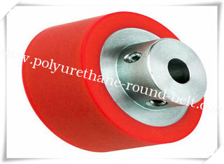 Any Color Oil Resistant Aging Resistant   Polyurethane Wheels Coating with Iron Core