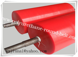 China Belt Polyurethane Gravity Conveyor Roller Abrasion Resistance supplier