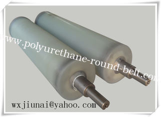 China Erosion Resistant conveyor belt rollers , Aging Resistant Pu roller supplier