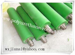 Environmental Polyurethane Coating Rollers high strength for Coal Mining