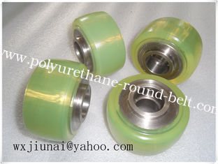 China PU Polyurethane Wheels Coating Rollers Wheels Replacement supplier