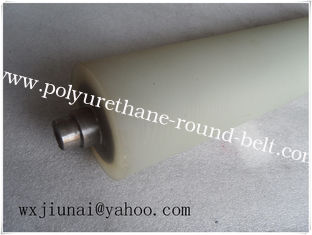 China Durable Polyurethane Rollers For Machinery , Cementing Machine Rubber Roller supplier