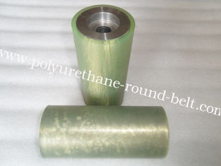 China Industrial Abrasion Resistance polyurethane wheels , Conveyor roller supplier