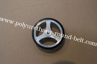 China Industrial PU Coating Polyurethane Rollers Wheels  Replacement supplier