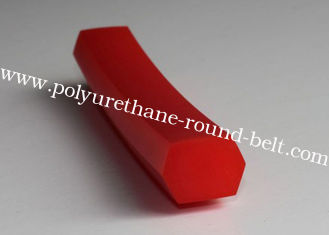China B-17 type PU Hexangular belt Polyurethane V Belt for conveyor system supplier