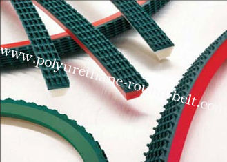 China Abrasion Resistant polyurethane with top PVC , PU round belt supplier