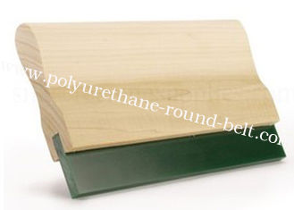 China 10*50MM 65A Solvent Resistant PU Polyurethane Flat Screen Printing Squeegee Blade supplier