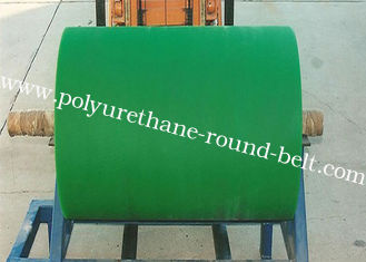 China Polyurethane Rollers , Industrial Colorful PU Polyurethane Coating Roller Wheels Replacement supplier