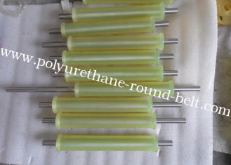 China Industrial Transmission PU Polyurethane Rollers Coating Conveyor Wheels supplier