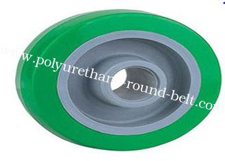 China Industrial PU Coating Polyurethane Rollers Wheels / Polyurethane Wheels Replacement supplier