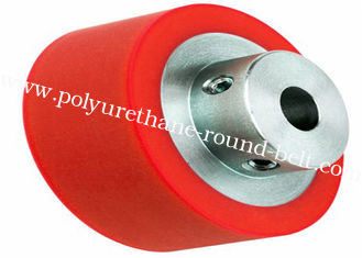 China Polyurethane Wheels , Industrial Abrasion Resistant PU Polyurethane Rollers Wheels for Conveyor supplier