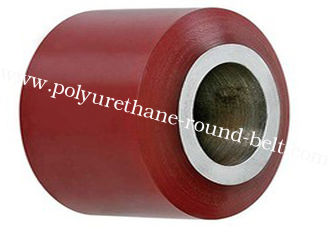 China OEM Industrial PU Polyurethane Rollers Wheels for Conveyor supplier