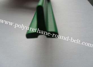 China Industrial Extruded Polyurethane PU T Profile conducting bar extrusion baffle supplier
