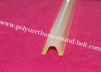 China Industrial Extruded Polyurethane U Profile Conveyor Belt Replacement supplier