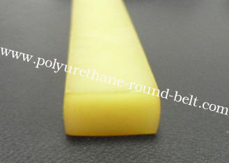China Solvent Resistant Industrial Extruded Polyurethane Rectangle Profile Belt for Conveyor supplier
