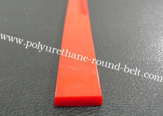 China Solvent Resistant Industrial Extruded Polyurethane Rectangle Profile Strip Belt supplier