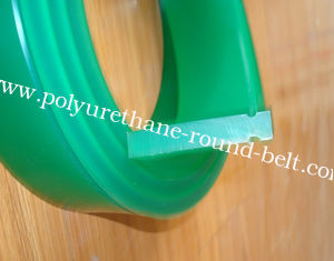 China Solvent Resistance Indstrial PU Polyurethane Flat Squeegee Screen Printing Squeegee 9*50MM 40-65A supplier