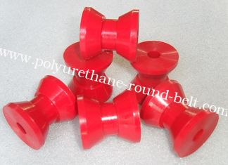 China Industrial Injection V-type Wheel of Machine Components Any color Polyurethane Parts supplier