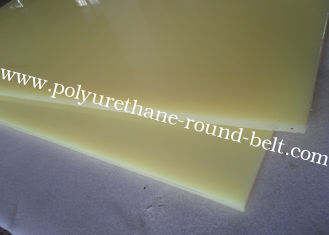 China Oil Resistant Elastic Insulation PU Polyurethane Rubber Sheet For shock absorption supplier