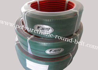 China Corrugated Belt PU Vee Grip Belt with Top Green PVC Surface supplier