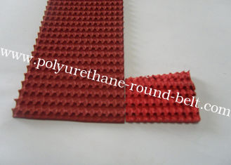 China Red Rubber Corrugated belt on Top Super Grip Belt Type A-13, B-17 ,C-22 supplier