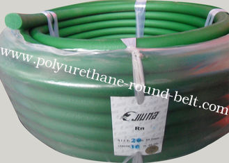 China 20mm Ceramic conveying belt PU Polyurethane Round Belt Orange or Green color supplier