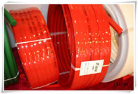 Urethane tranmission red Polyurethane V Belt for driving , wear resistant