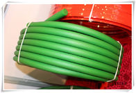 China Green Polyurethane Round Belt / 8mm pu conveyor belt for driving factory