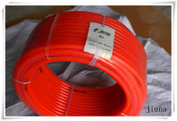 China 50m Per Roll Round Pu Extruded Belt Diameter 10 Mm - 16 Mm Orange factory