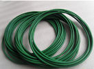 China Hardness 90A Green Polyurethane Round Belt In Roll Seamless Belt Paper Processing factory